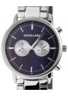 Excellanc Deep ezüst férfi chronograph karóra EX18994CH