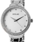 Excellanc Brill strasszos ezüst színű női karóra EX189074TR