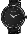Excellanc Brill strasszos fekete színű női karóra EX189053TR