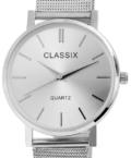 Divatos ezüst színű női Classix karóra CL3335TR