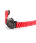 Trendi Adrina szilikonszíjas piros női karóra AD4512TR