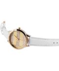 Exkluzív fehér-arany női Excellanc karóra EX18616EX