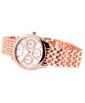 Rózsaarany Excellanc női karóra chronographokkal díszítve EX18679TR