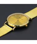 Csodálatos arany Geneva fémszíjas női karóra GE1586TR