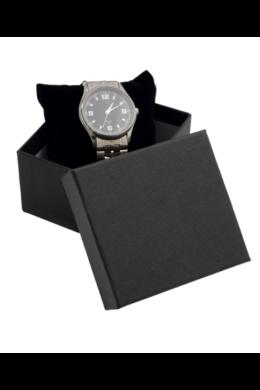 Fekete matt ajándékdoboz kis méretű órákhoz AD22