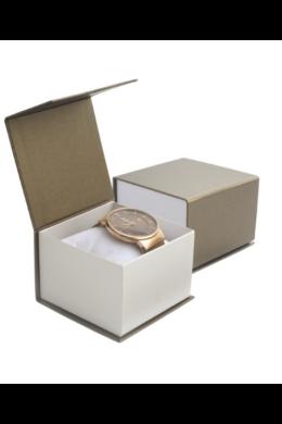 Barna elegáns ajándékdoboz mágneses zárral AD21