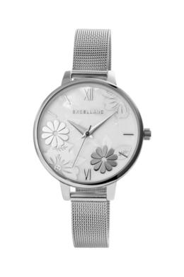 Trendi ezüst színű Excellanc Flower női karóra EX181113TR