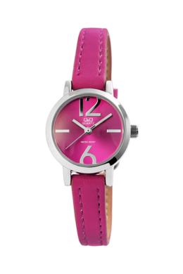 Trendi Q&Q Numbers pink színű női karóra QQ3480TR