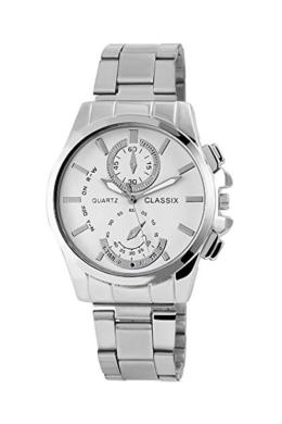 Classix ezüst színű férfi karóra CX3334KL