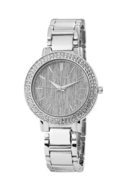 Excellanc Jewel ezüst fémszíjas női karóra kövekkel EX181032EX