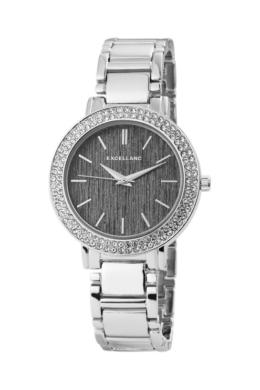 Excellanc Jewel ezüst fémszíjas női karóra kövekkel EX181033EX