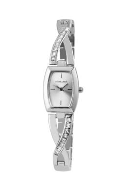 Excellanc elegáns ezüst színű női karóra strasszokkal EX181070EL