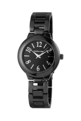 Excellanc Pure fekete fémszíjas női karóra EX189094TR