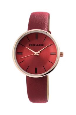 Bordó színű Excellanc Trend karóra EX189023TR