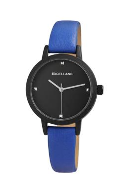 Ragyogó kék színű Excellanc Minimal karóra EX189052TR
