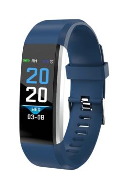 UNISEX TimeTech ár-érték bajnok sötétkék fitness okosóra TT3610PR