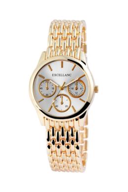 Arany Excellanc női karóra chronographokkal díszítve EX18666TR