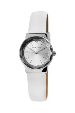 Fehér színű Excellanc Point karóra csillogó strasszkővel EX189032TR