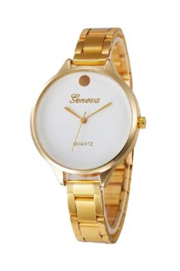Luxury Look arany Geneva fémszíjas női karóra GE15017TR