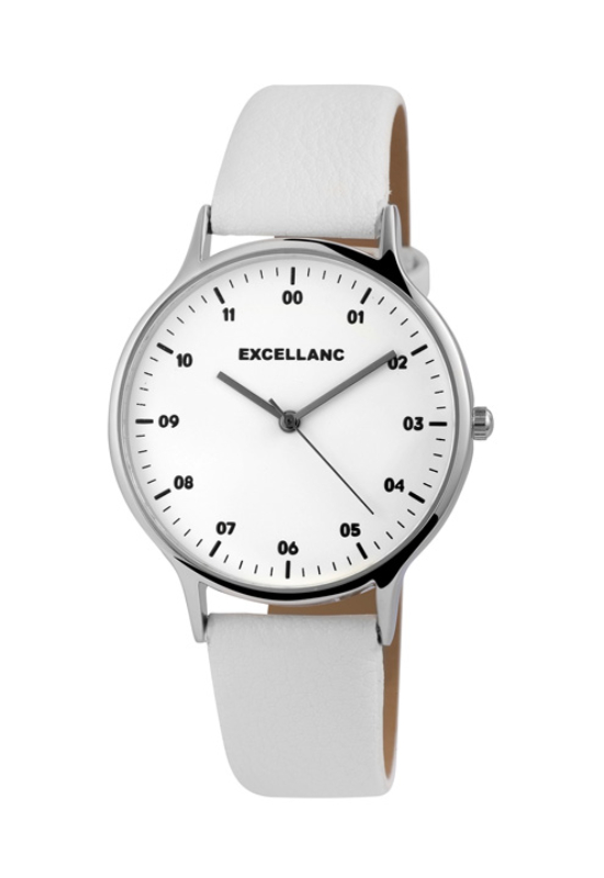 Trendi fehér színű Excellanc Number női karóra EX189091TR