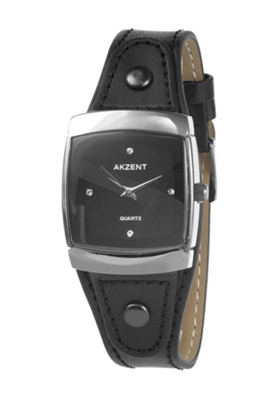 Fekete Akzent trendi női karóra AK1924TR
