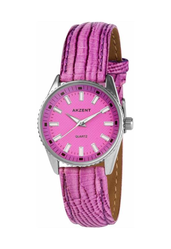 Akzent trendi pink női karóra AK1962TR