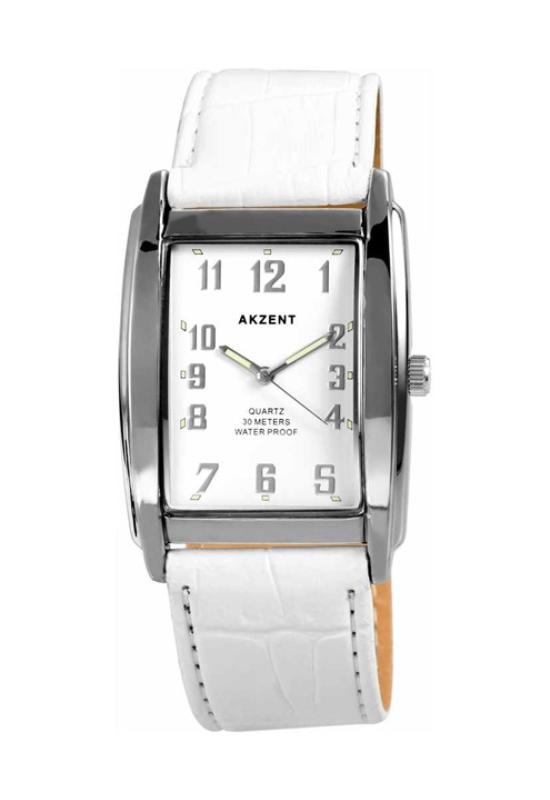Trendi fehér Akzent női karóra AK1968TR