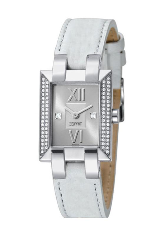 Esprit Glam Quad White trendi fehér női óra ES102562001
