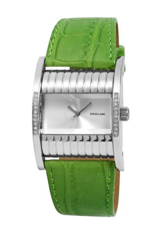 Trendi zöld Excellanc női karóra EX17220TR