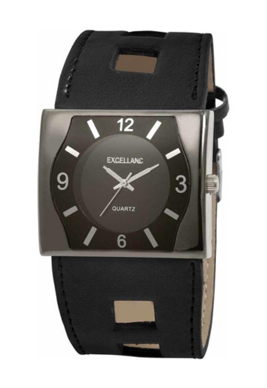 Fekete Excellanc trendi karóra EX17558TR