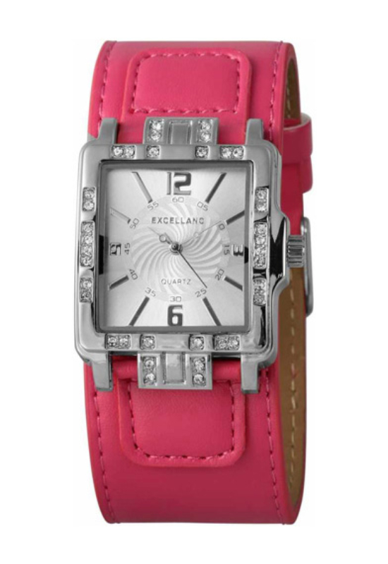 Trendi Excellanc pink női karóra EX17848TR