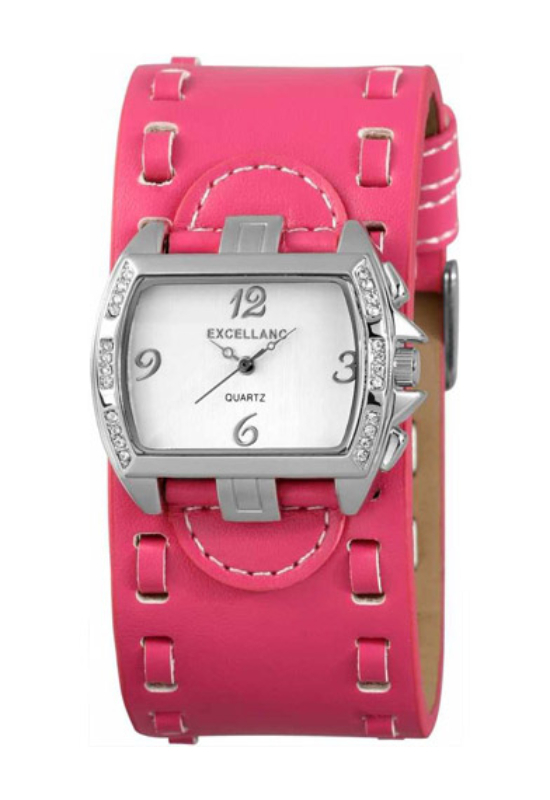 Trendi Excellanc pink női karóra EX17852TR