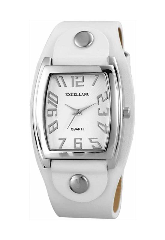 Fehér Excellanc divatos női karóra EX17936TR