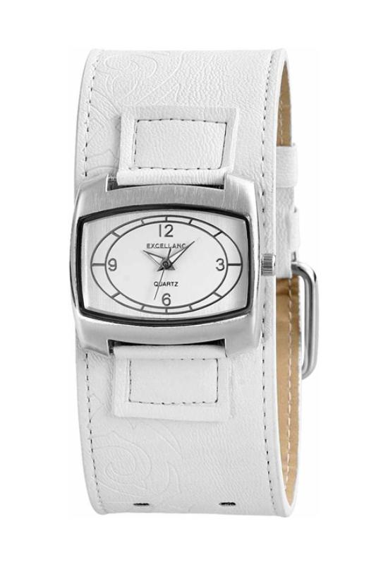 Fehér Excellanc trendi női karóra EX17962TR