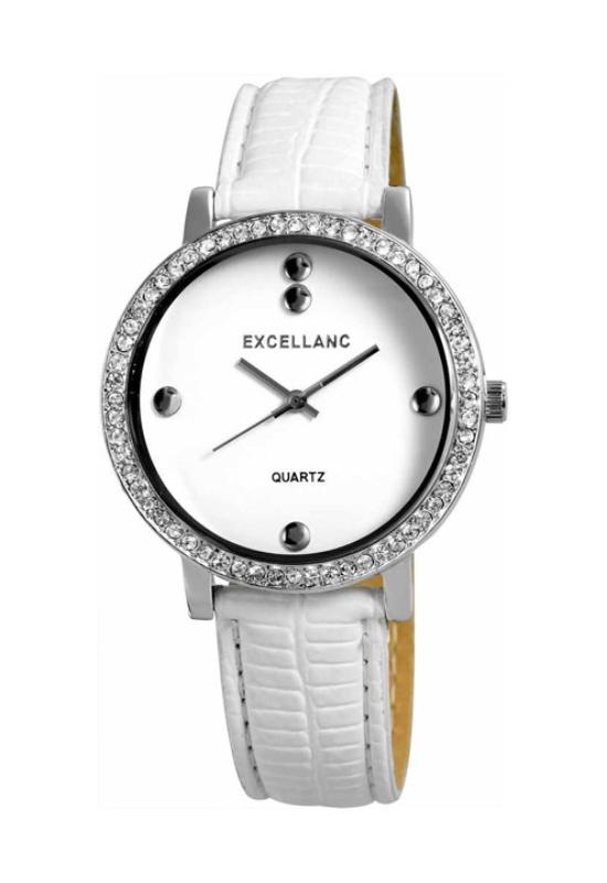 Trendi fehér Excellanc női karóra EX18029TR