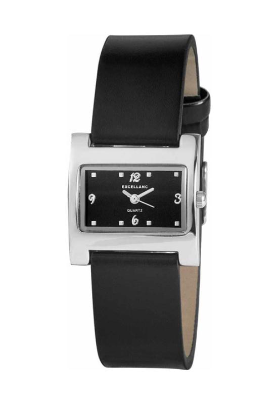 Trendi fekete Excellanc női karóra EX18050TR