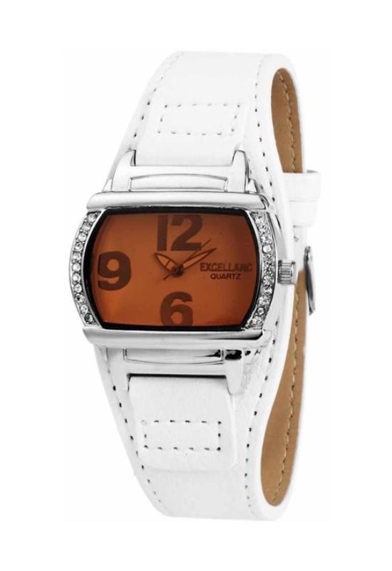 Trendi fehér Excellanc karóra barna számlappal EX18059TR
