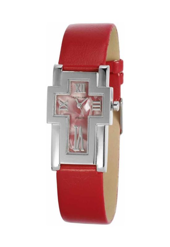 Trendi piros Excellanc női karóra EX18150EX
