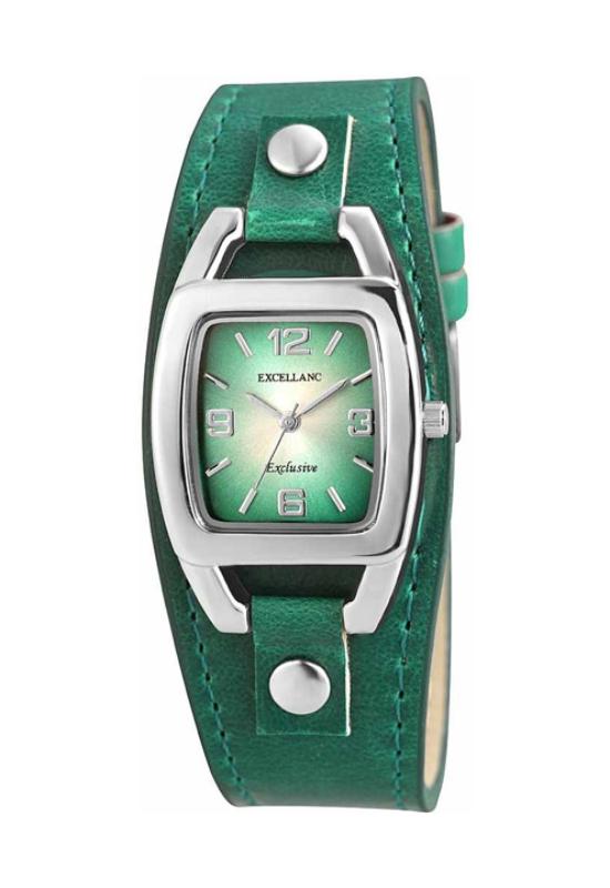 Trendi zöld Excellanc női karóra EX18161TR