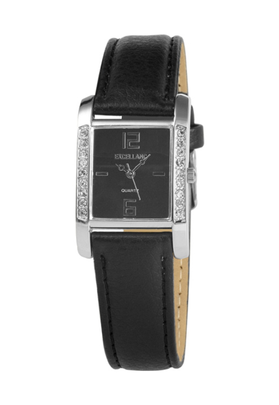 Trendi fekete Excellanc karóra EX18164TR
