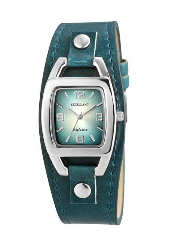 Trendi kék Excellanc női karóra EX18168TR