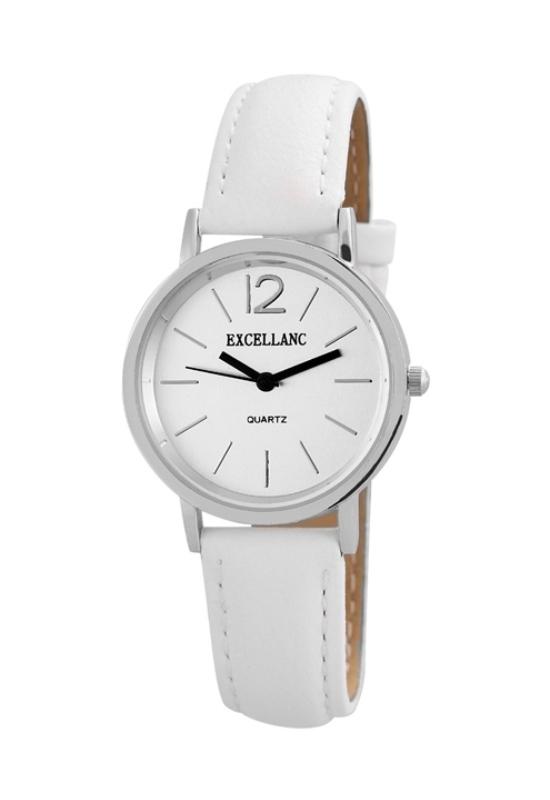 Trendi fehér Excellanc női karóra EX18366TR