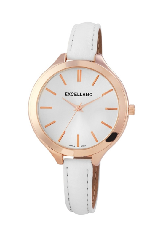 Trendi fehér Excellanc női karóra EX18395TR