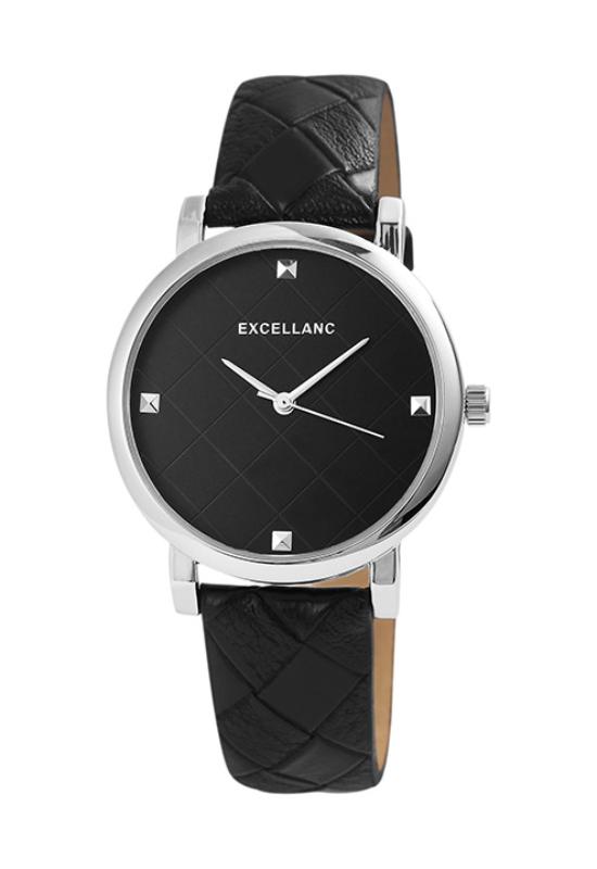 Kárómintás, fekete színű Excellanc Geo karóra EX189029TR