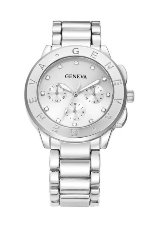 Geneva Luxury Silver fémszíjas női karóra GE15125TR