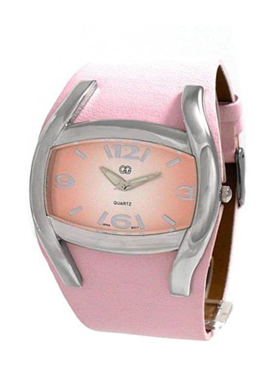 Trendi GG rózsaszínű női karóra GG3915TR