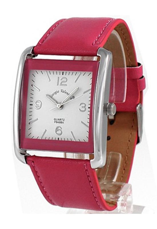 Trendi pink Giorgie Valentian női karóra GV3038TR
