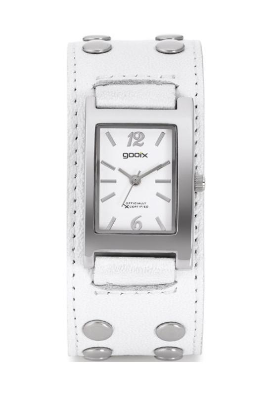 Trendi Gooix fehér női karóra GX04933007