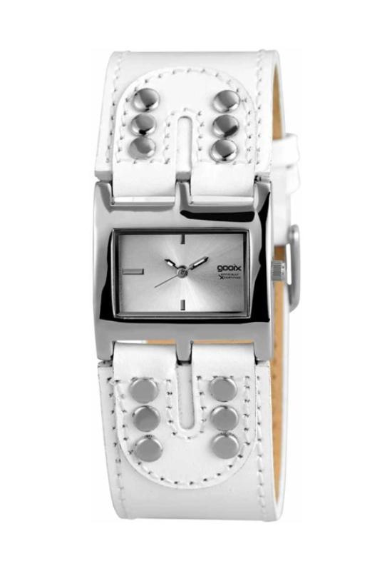 Trendi Gooix fehér női karóra GX05100001