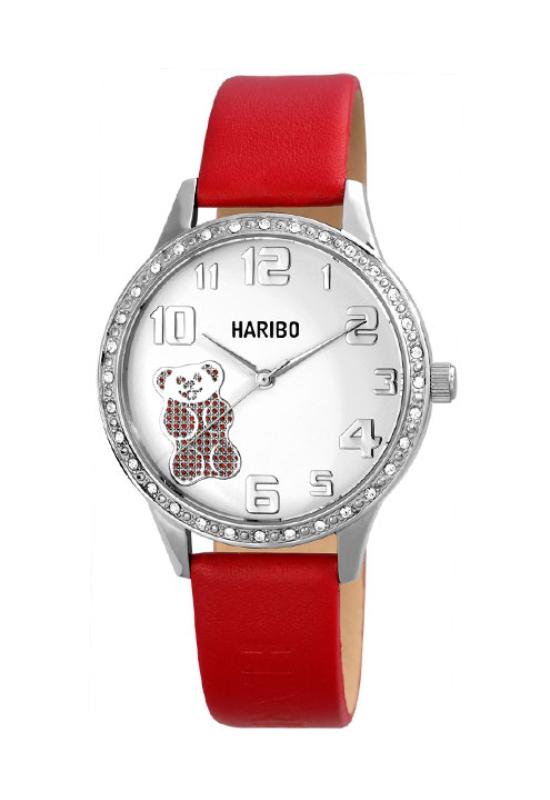 Trendi piros Haribo női karóra HA4001TR